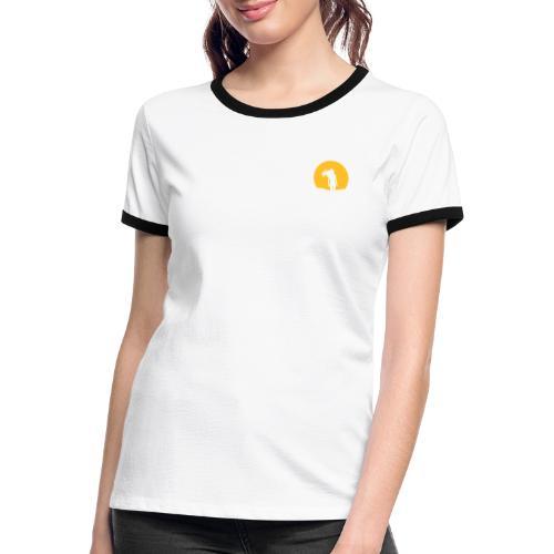 NACHTSONNE Nova - Frauen Kontrast-T-Shirt