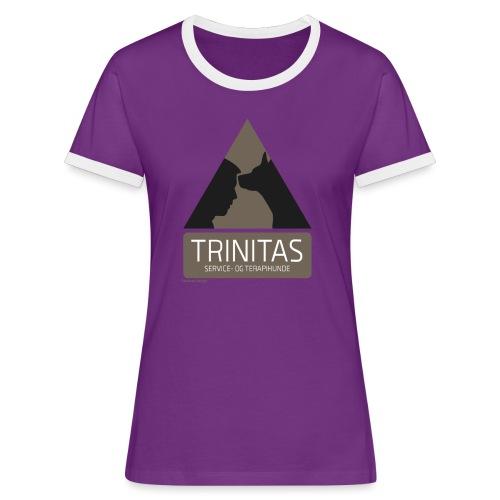 Trinitas Shirts - Dame kontrast-T-shirt
