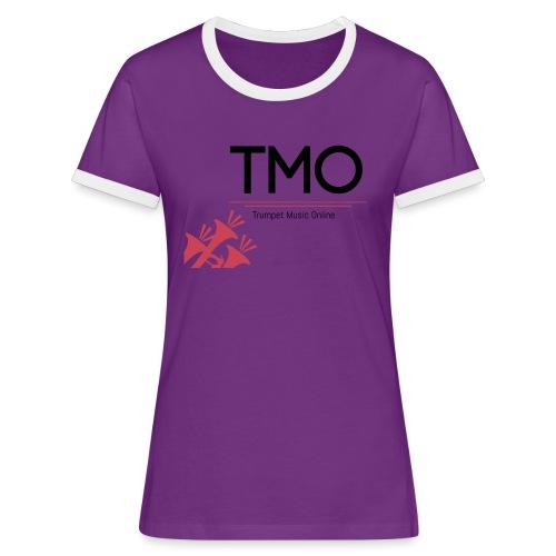 TMO Logo - Women's Ringer T-Shirt