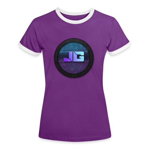 Pet met Logo - Vrouwen contrastshirt