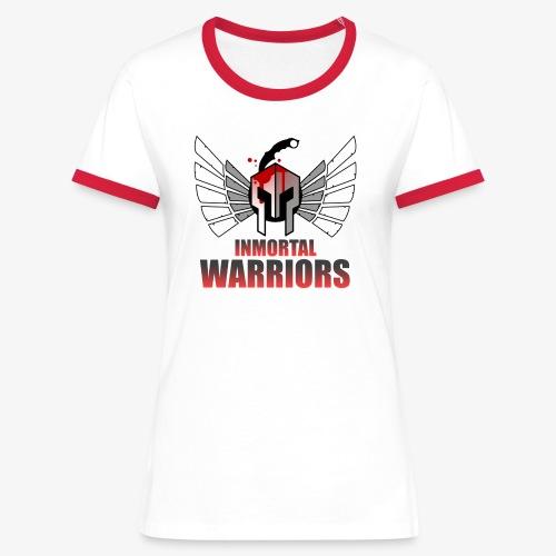 The Inmortal Warriors Team - Women's Ringer T-Shirt
