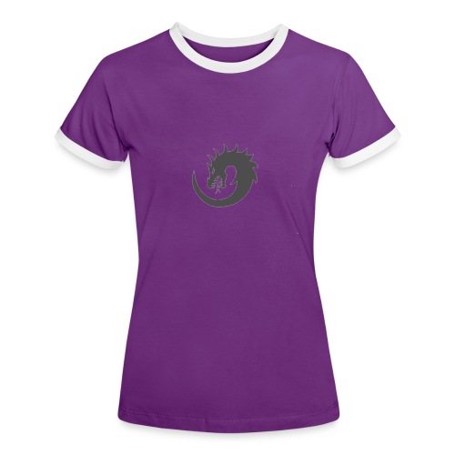 Orionis - T-shirt contrasté Femme