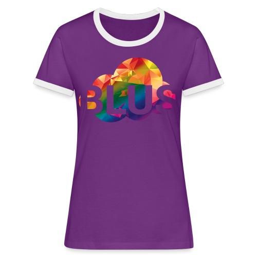 BURNER Logo - Women's Ringer T-Shirt