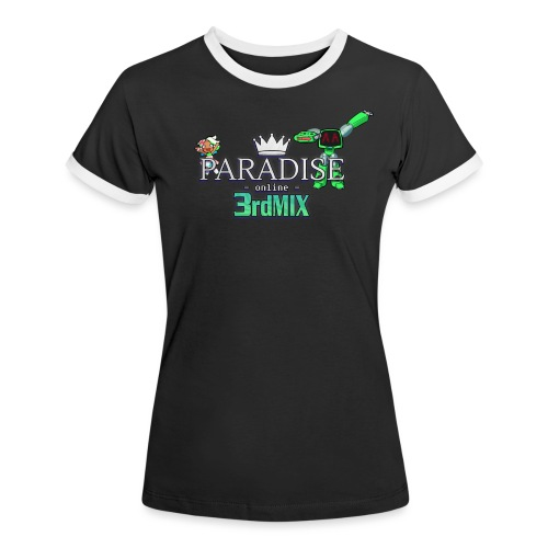 Paradise Online: 3rd Mix - Vrouwen contrastshirt