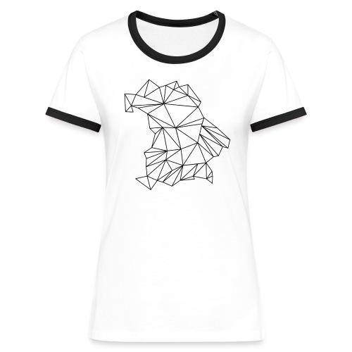 Bayern - Frauen Kontrast-T-Shirt