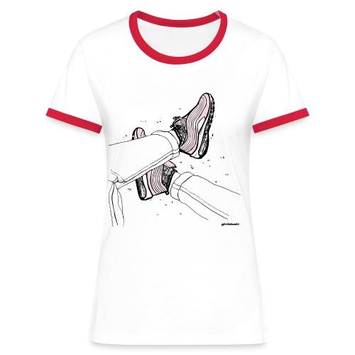 AM97 girlsinair - Women's Ringer T-Shirt