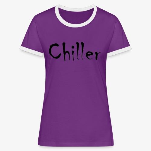 Chiller da real - Vrouwen contrastshirt