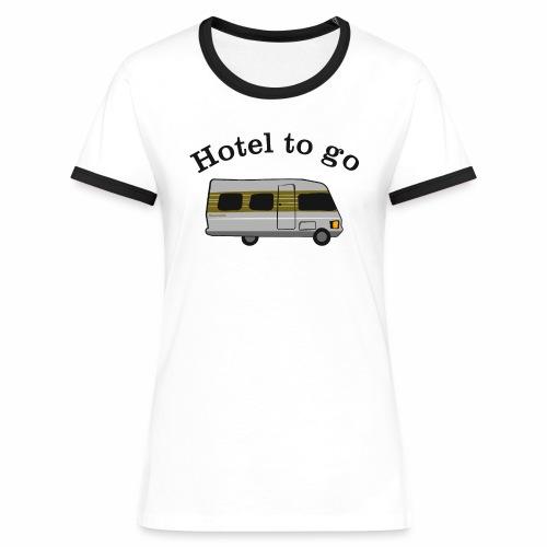 Hotel to go - Frauen Kontrast-T-Shirt