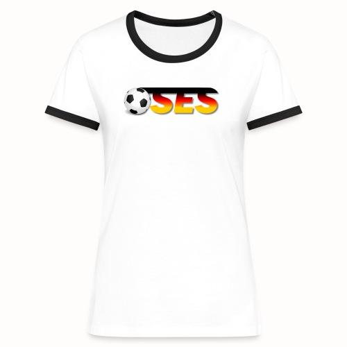 OSES Socker Txt - Frauen Kontrast-T-Shirt