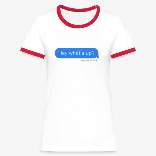 READAT - Women's Ringer T-Shirt
