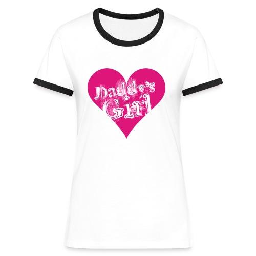 daddys_girl - Naisten kontrastipaita