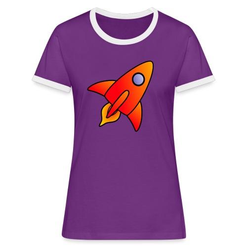Red Rocket - Women's Ringer T-Shirt
