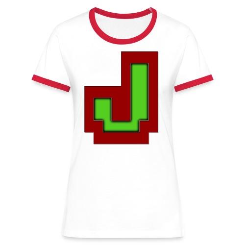 Stilrent_J - Dame kontrast-T-shirt