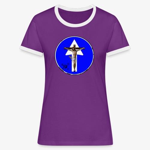 Gesù - Maglietta Contrast da donna