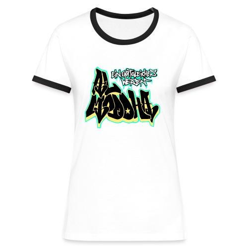 al ddha naggsch comp inv png - Frauen Kontrast-T-Shirt