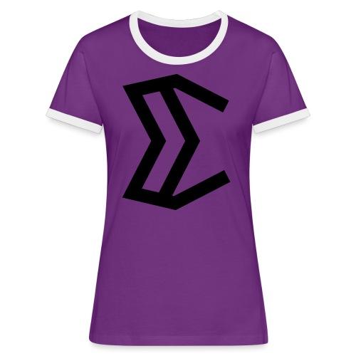 E - Women's Ringer T-Shirt