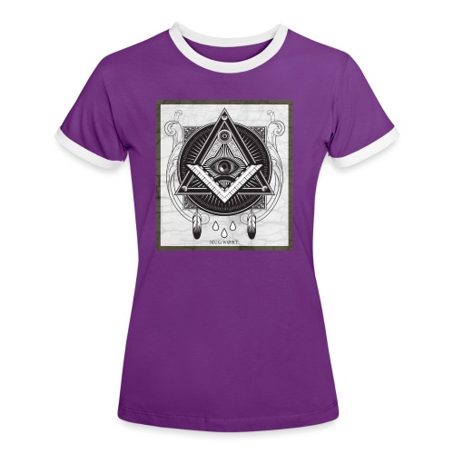 Illuminati - T-shirt contrasté Femme
