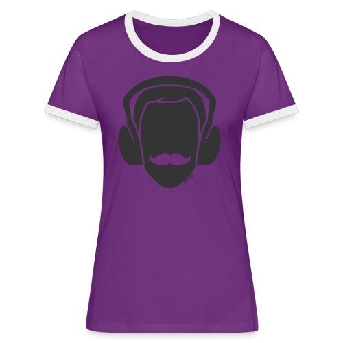Moustachu Song (H) - T-shirt contrasté Femme