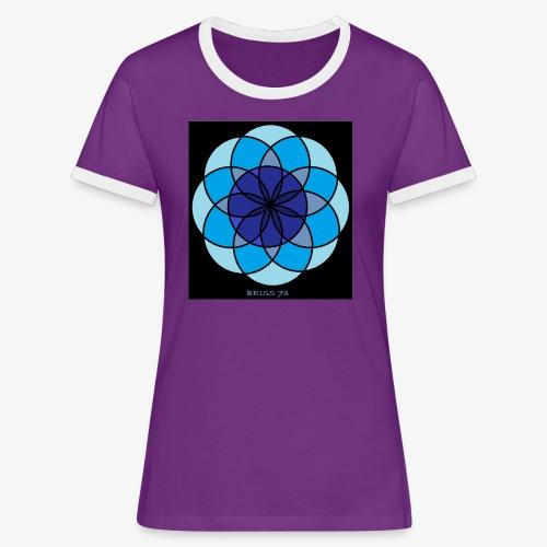 MANTRA DE LA TRANQUILIDAD - Camiseta contraste mujer