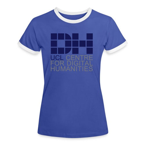 DH UCL captioned remix - Women's Ringer T-Shirt