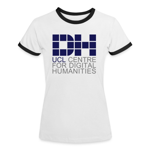 DH UCL captioned remix - Women's Ringer T-Shirt