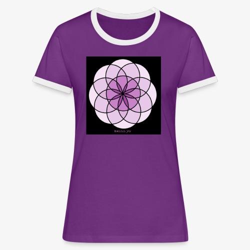 MENTRA DEL PENSAMIENTO - Camiseta contraste mujer