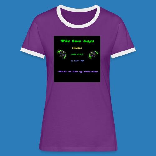 LUISJAKUBINTRO-jpg - Dame kontrast-T-shirt
