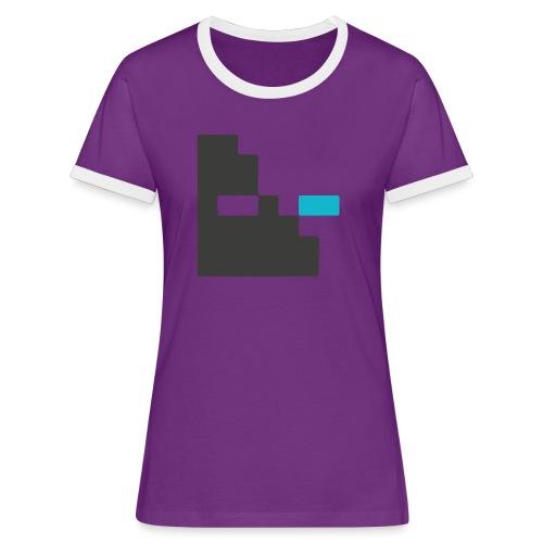 Mortu Logo - Vrouwen contrastshirt