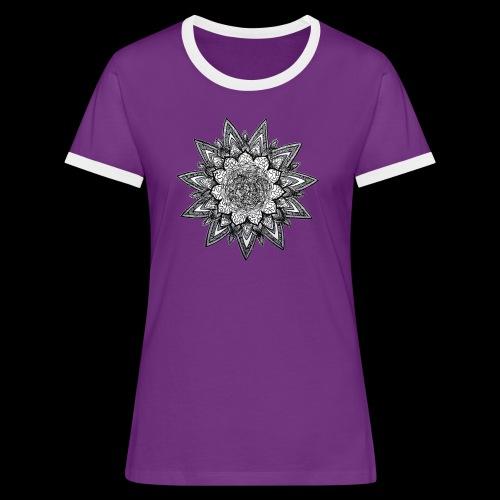 trippy dreams - T-shirt contrasté Femme