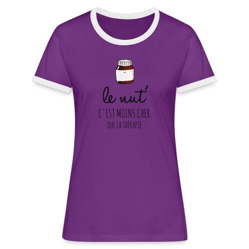 Le Nut' - T-shirt contrasté Femme