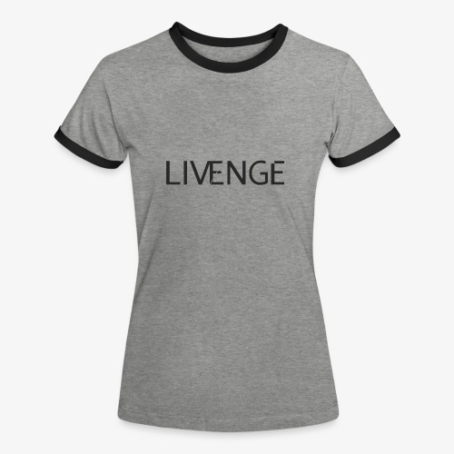 Livenge - Vrouwen contrastshirt