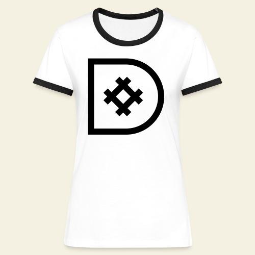 Icona de #ildazioètratto - Maglietta Contrast da donna