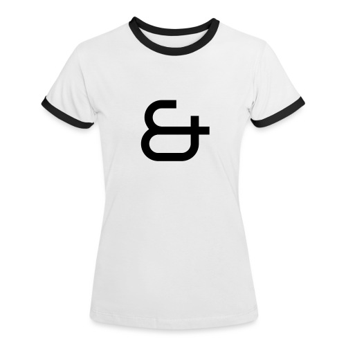 & - T-shirt contrasté Femme