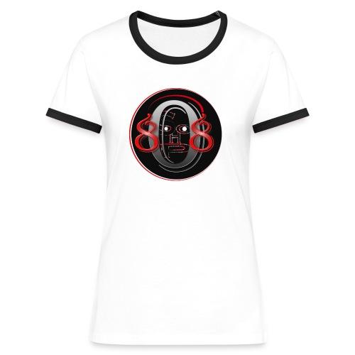 808shop-simple - T-shirt contrasté Femme