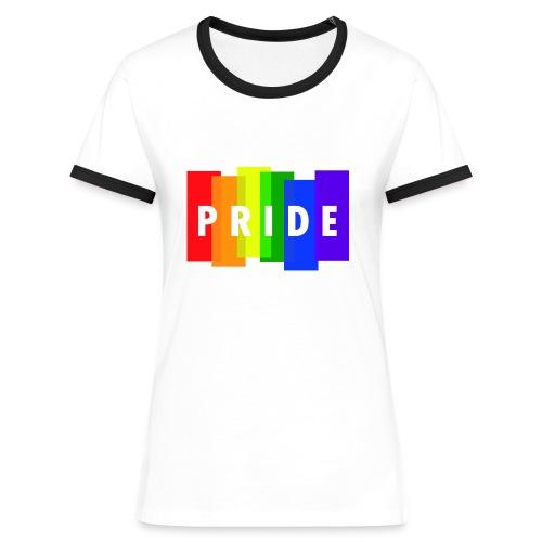 Pride - Camiseta contraste mujer