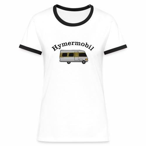 Hymermobil - Frauen Kontrast-T-Shirt