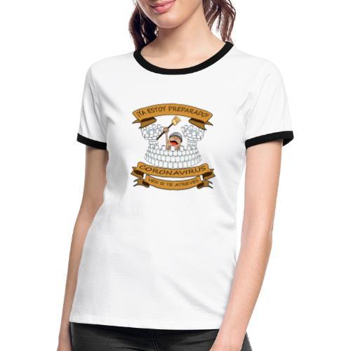 Ya estoy preparado! - Camiseta contraste mujer