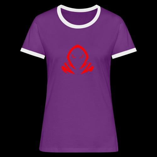 New Official TagX Logo - Naisten kontrastipaita