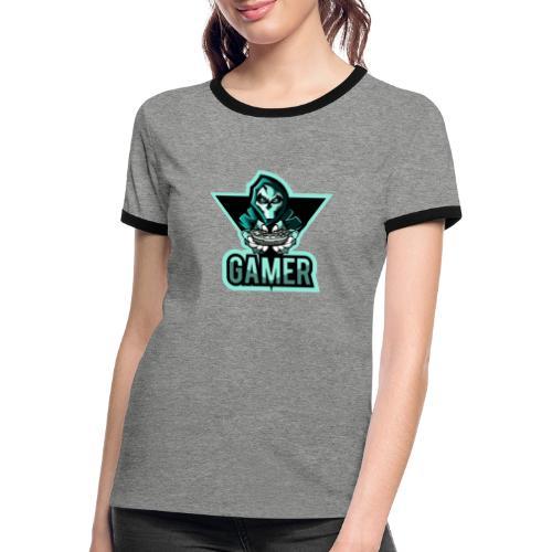 GAMER JOK - T-shirt contrasté Femme