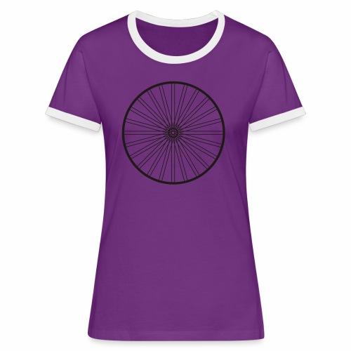 rad_02 - Frauen Kontrast-T-Shirt
