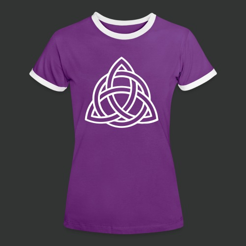 Celtic Knot — Celtic Circle - Women's Ringer T-Shirt