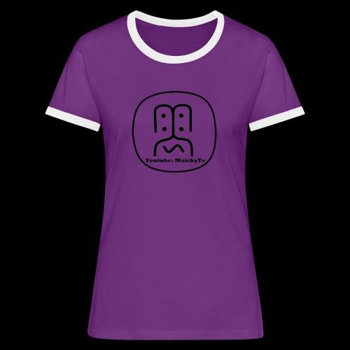 MaickyTv Merch - Frauen Kontrast-T-Shirt