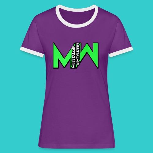 MeestalMip Shirt - Men - Vrouwen contrastshirt