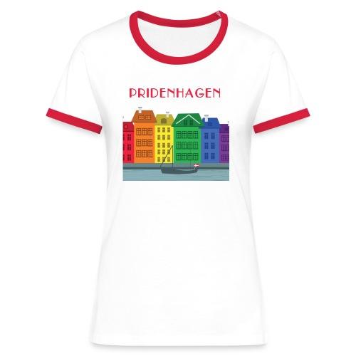PRIDENHAGEN NYHAVN T-SHIRT - Dame kontrast-T-shirt