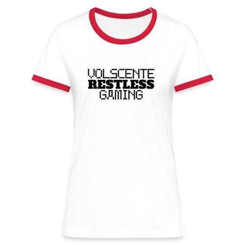 Volscente Restless Logo B - Maglietta Contrast da donna