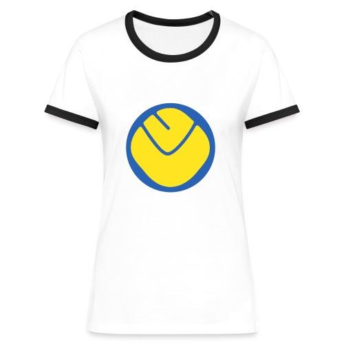 smiley copy - Women's Ringer T-Shirt