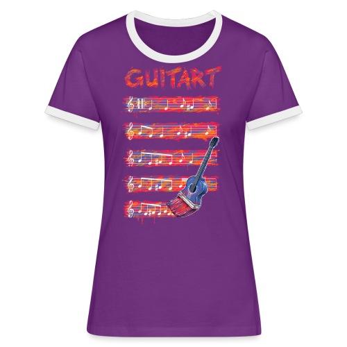 GuitArt - Women's Ringer T-Shirt