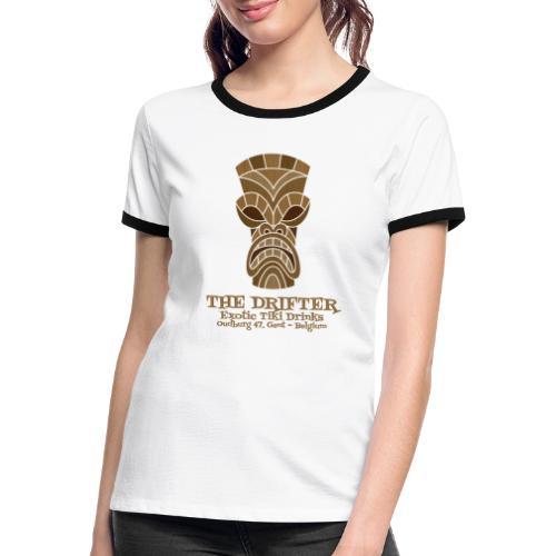 tshirt logo - Vrouwen contrastshirt