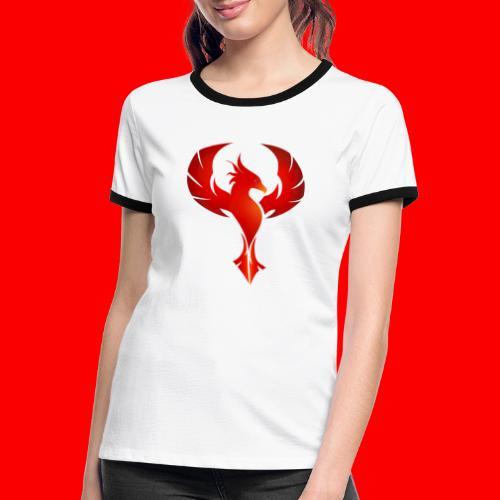 Phynyx Trust Collection - Frauen Kontrast-T-Shirt
