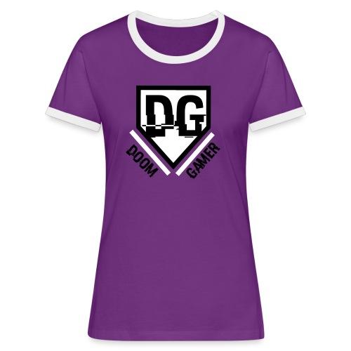 Doomgamer apple 6 / 6s hoesje - Vrouwen contrastshirt